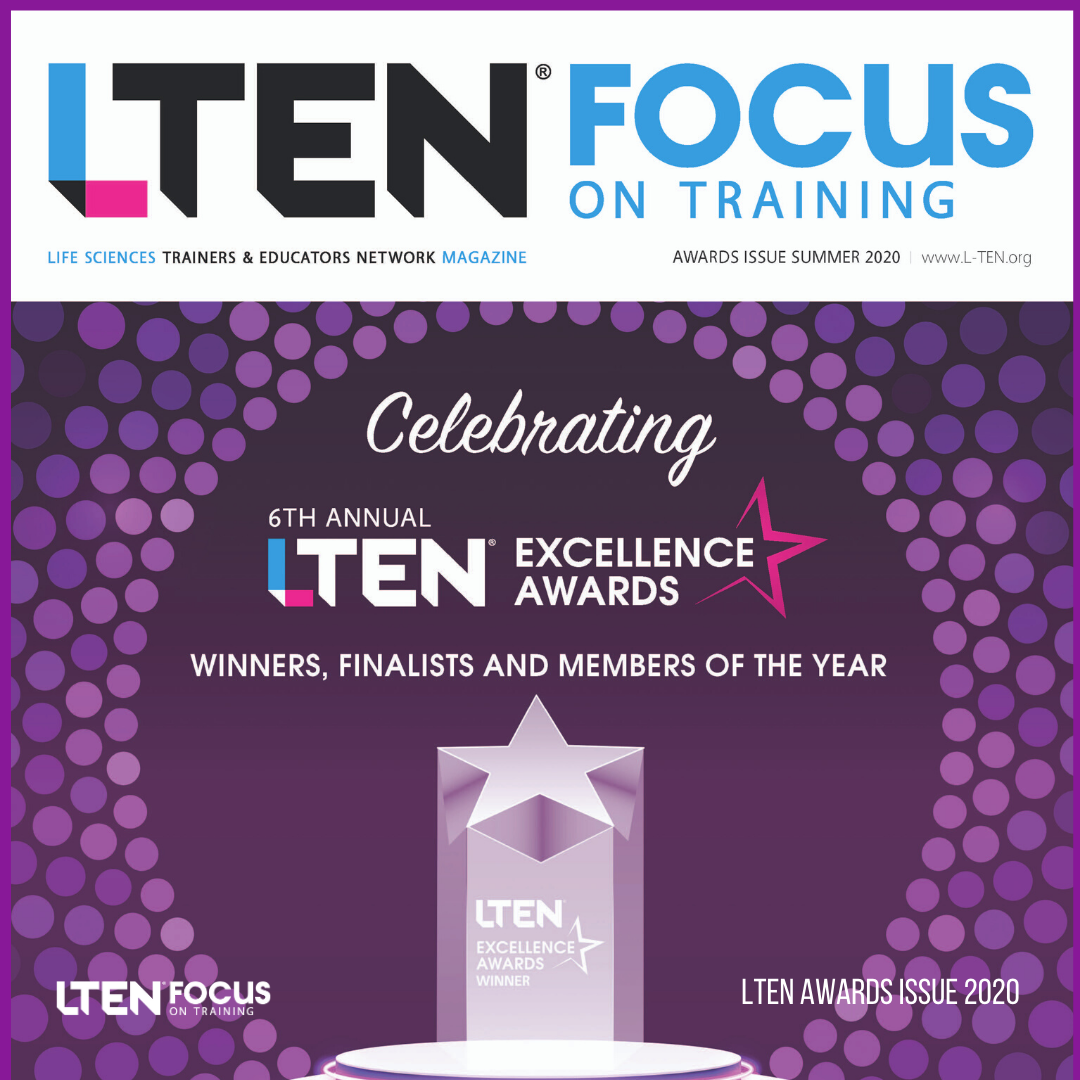LTEN Focus On Training Awards Issue 2020