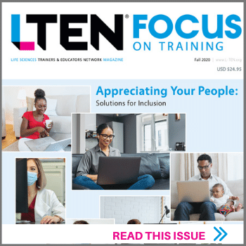 LTEN Focus On Training Fall Issue - Read this Issue