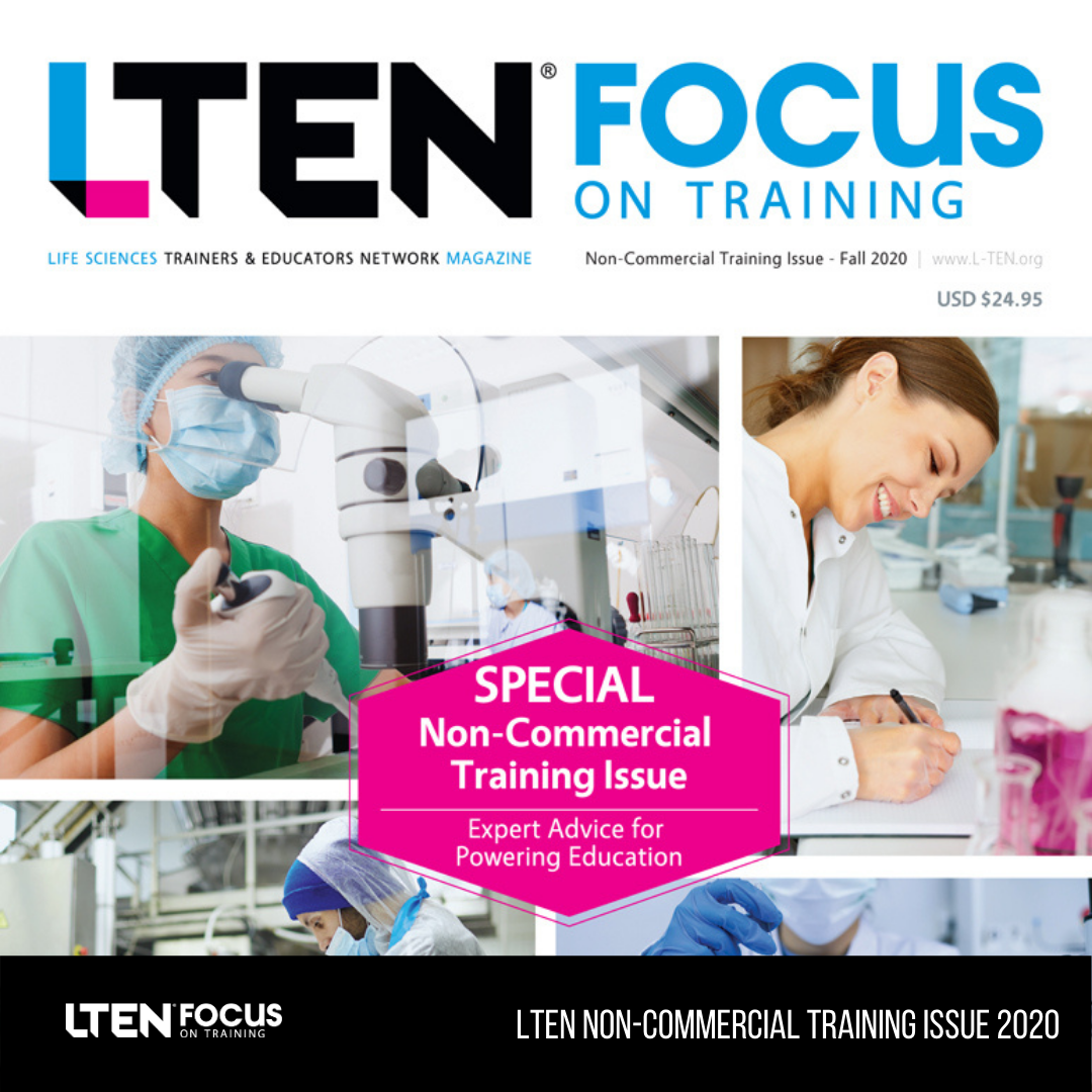 Non-Commercial Training Issue (Cover Image)