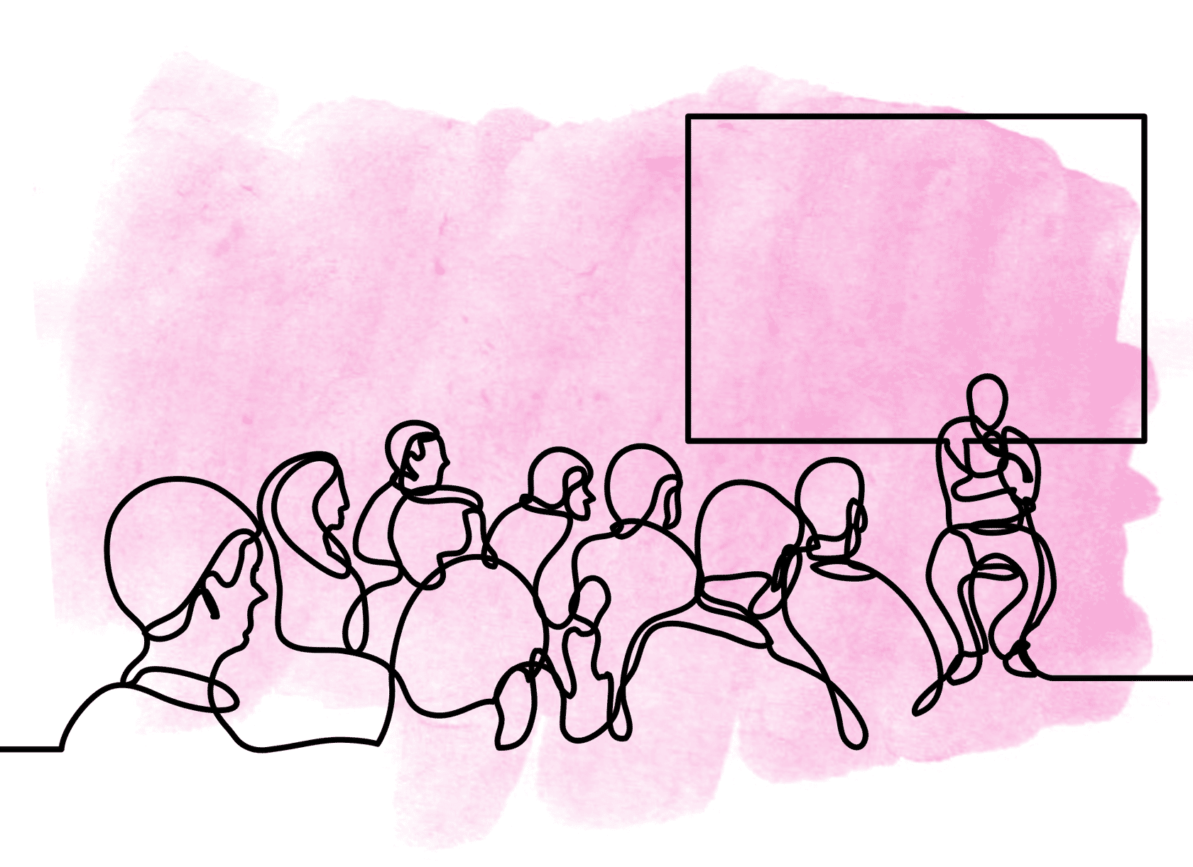 Facilitating in front of a live classroom