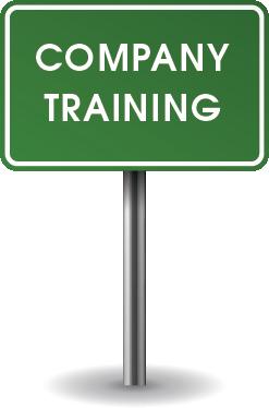 Company Training Sign