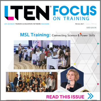 Winter Issue of Focus On Training - features MSL Training: Connecting Science & Power Skills